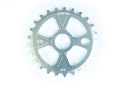 Total BMX Victory Sprocket - Silver 25 Tooth